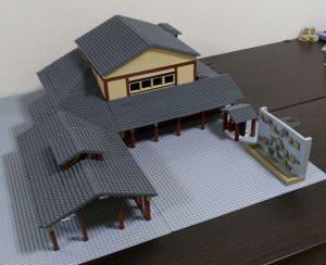 別府鉄輪温泉の模型