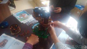 レゴブロックを用いた就労支援「ツリーハウス」
