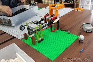 レゴブロックを用いた就労支援「Lego Technic」