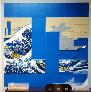 レゴで作った富嶽三十六景