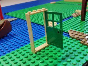 レゴで無人島の開拓