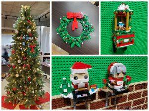 クリスマスに向けたレゴ作品